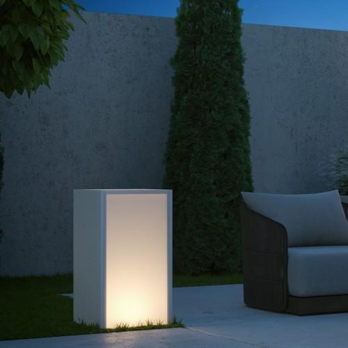 Lita Plantador Iluminado 40x44x80H