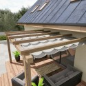 KELUX.IT - Pergola Mono Retractable